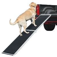 7 ft. Lightweight Extra Wide Folding Aluminum Pet Ramp by Rage Powersports