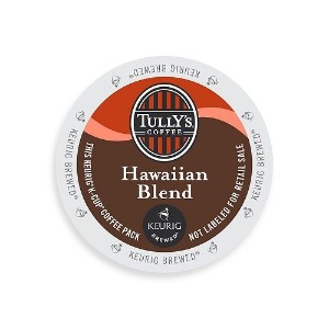 Tully's Coffee K-Cups, Hawaiian Blend, 96 Count by Tully's Coffee