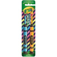 GUM Crayola Children Toothbrush, Soft, by GUM