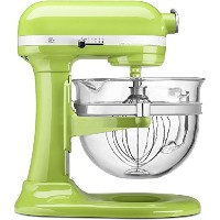 KitchenAid Professional 600 Design Series 6 Qt Glass Bowl Lift Stand Mixer 並行輸入 (Green Apple)