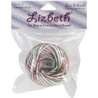 Lizbeth Cordonnet Cotton Size 3-Christmas Delight by Notions - In Network [並行輸入品]