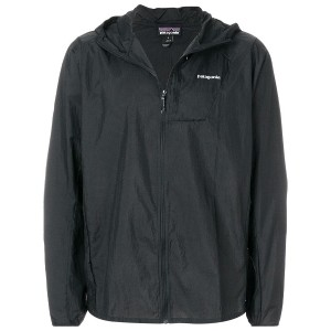 Patagonia zipped hooded jacket - ブラック