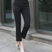 [zoozoom] Back banding suit pants 2color / 29297