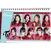 NEW ツワイス TWICE 2018-2019 年 卓上カレンダー with extra gift 5 photo cards