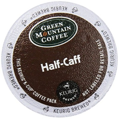 Green Mountain Coffee K-Cup for Keurig K-Cup Brewers, Half-Caff (Pack of 48) by Green Mountain...