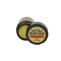 Beard Balm Conditioner Wax Blend for Medium Hold Hair Styling 100% Natural Vegan Cruelty-Free...