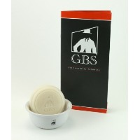Shaving Soap Ocean Driftwood with White Ceramic Bowl -- 3 Oz Soap By Gbs by GBS