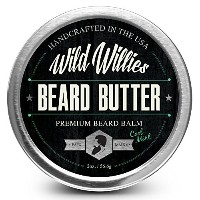 Beard Balm Conditioner For Men -Wild Willie's Beard Butter-Amazing Beard Balm with 13 Natural...