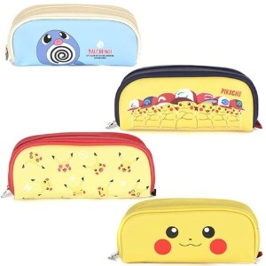 Pocket monster pencil case [round sewing] korea style free shipping