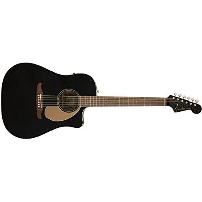 Fender アコースティックギター Redondo Player, Jetty Black