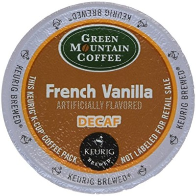 Green Mountain Coffee French Vanilla Decaf, K-Cup Portion Pack for Keurig K-Cup Brewers (Pack of 48...