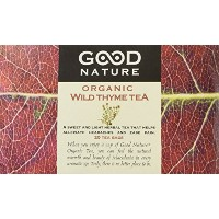 Good Nature Teas, Organic Wild Thyme Tea, 20 Tea Bags