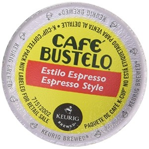 Keurig Cafe Bustelo Coffee Espresso K-Cups Cuban (36 Count) by Cafe Bustelo