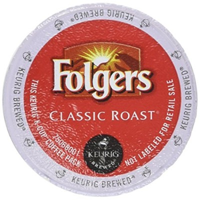 Folgers Gourmet Classic Coffee, Medium Roast, K-Cups (80 ct.) by Folgers