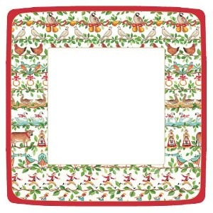Entertaining with Caspari Entertaining Square Dinner Plates、12日 Pack of 16 3