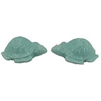 Sea Turtle Salt and Pepper Shaker Setビーチ航海の装飾