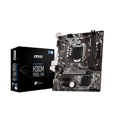 MSI H310M PRO-VH M-ATX マザーボード [Intel H310チップセット搭載] MB4373
