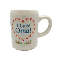 「My Oma Loves Me」Stonewareコーヒーカップ