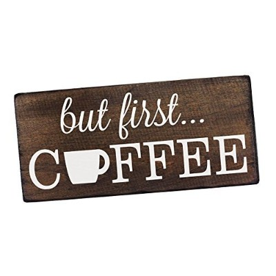 But First Coffee Sign Rustic Kitchen Decor Kitchen Wall Decor Kitchen Signs Kitchen Wall Art Coffee...