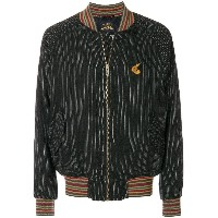 Vivienne Westwood Anglomania patterned bomber jacket - ブラック