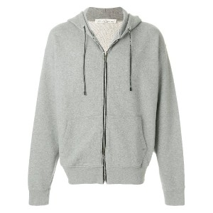 Golden Goose Deluxe Brand プリント ジップアップ パーカー - グレー
