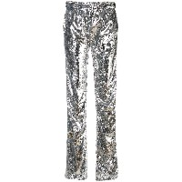Faith Connexion Kappa sequin trousers - メタリック