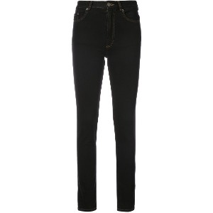 Y / Project back cut-out jeans - ブラック