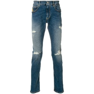 Vivienne Westwood Anglomania distressed jeans - ブルー