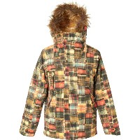 BURTON Women's Zinnia Jacket Well-Loved Patching 2018FW