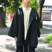 too good(トゥーグッド) / THE EXPLORER COAT PLAIN COTTON -COAL-