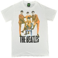THE BEATLES ビートルズ Logo Chair Fab Four Tシャツ