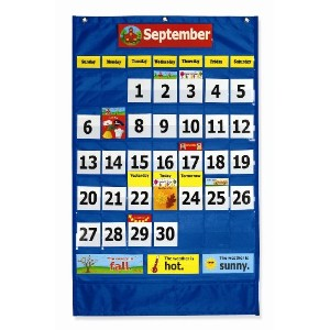 Pacon Calendar Weather Pocket Chart (0020800) by Pacon