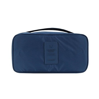 【MONOPOLY 公式】正規品 MONOPOLY UNDERWEAR POUCH VER.2 navy アンダーウェアーポーチ 下着ポーチ 収納 防水処理 (NAVY)