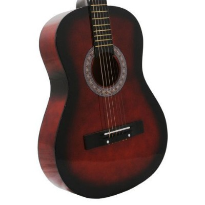 Coffee Acoustic Toy Guitar for Kids with Carrying Bag and Accessories & DirectlyCheap(TM) Translucen...