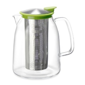 Mist Iced Tea Jug with Basket Infuser by Forlife, 68-Ounce (2L) by For Life