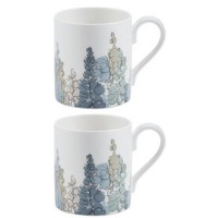 6 Piece Roy Kirkham Larch Mug Set