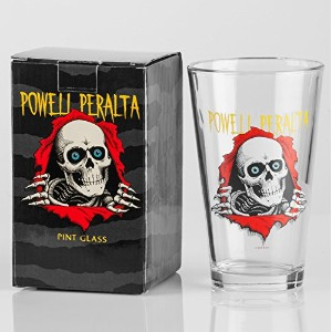 Powell Peralta Skateboards Ripper Pint Glass