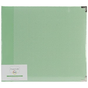 Project Life 380053 Album - 12 x 12 - D-Ring - Jade Edition - Album 2 - Jade by American Crafts