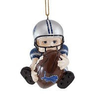 Detroit Lions Football Player Hangingクリスマスオーナメント