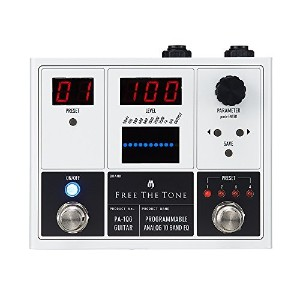Free The Tone PA-1QG PROGRAMMABLE ANALOG 10 BAND EQ ギターエフェクター