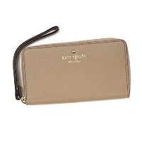 ケイトスペード 財布 長財布 KATE SPADE COBBLE HILL PWRU3842 MEDIUM LACEY WRISTLET 178 WARM PUTTY 並行輸入品
