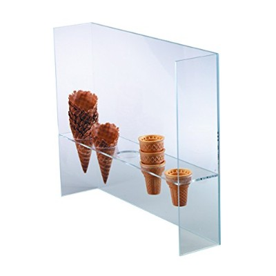 Dispense-Rite CSG-5L Five Section Cone Stand with Shield by Dispense Rite
