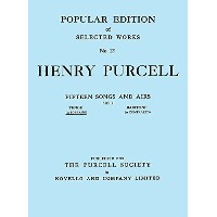 Henry Purcell: Fifteen Songs And Airs - Set 2 (Soprano Or Tenor). Partitions pour Voix Haute,...
