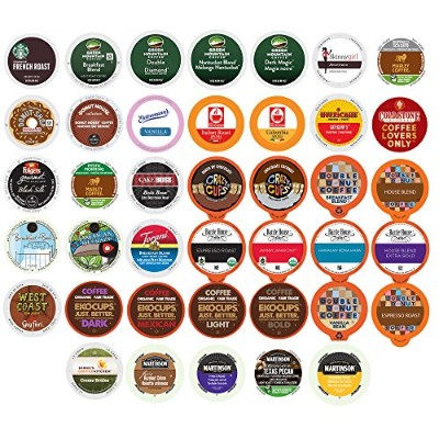 Coffee Variety Sampler Pack for Keurig K-Cup Brewers, 40 Count (selection may vary) 並行輸入品