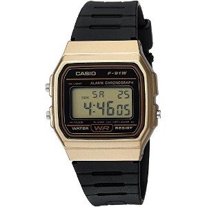 [カシオ]Casio 腕時計 'Classic' Quartz Metal and Resin Casual Watch, Color:Black F-91WM-9ACF メンズ [並行輸入品]