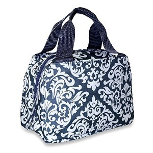 Ever Moda Insulated Lunch Toteバッグコレクション One Size グレー GW8010GY