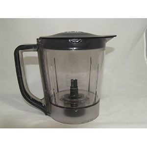 Ninja Kitchen Systems Pulse Blender 40 Ounce Processing Bowl with Lid- BL200 BL201 BL204 by Nutri...