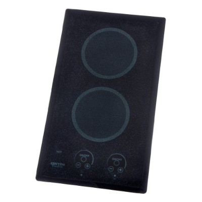 Kenyon b41575 6 – 1 /2インチlite-touch Q 2-burner Trimline Cooktop withタッチコントロール、120-volt、ブラックby Kenyon