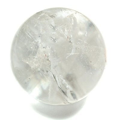Clear Quartz Spheres Extra (3/4) - 1pc. by Healing Crystals