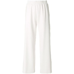 See By Chloé embroidered trim wide leg trousers - ヌード&ナチュラル